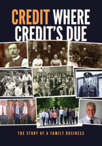 Credit Where Credit's Due Book Cover